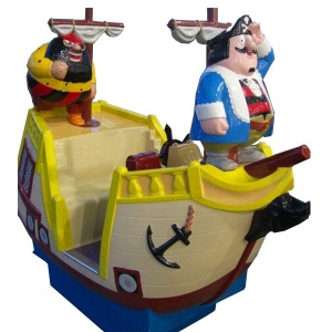 Captain Pugwash Coin Ride